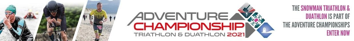 The Snowman Triathlon is part of the Adventure Championships. Enter Now.