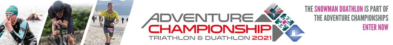The Snowman Duathlon is part of the Adventure Championships. Enter Now.