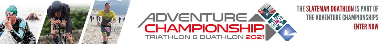 The Slateman Duathlon is part of the Adventure Championships. Enter Now.